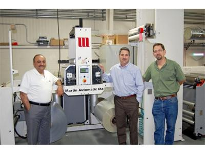 Label Technology adds third Martin splicer
