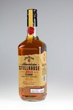 Wood veneer labels for Jim Beam